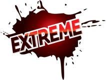Extreme het embleem grafische tekst van de avonturenmodder Royalty-vrije Stock Foto's