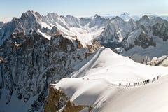 Extreme hiking Royalty Free Stock Photography