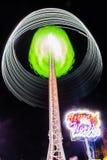 Extreme hohe Anziehungskraft an der Spaßmesse in Maastricht lizenzfreies stockfoto