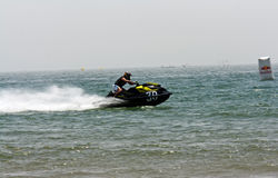 Extreme jet-ski races Royalty Free Stock Photos