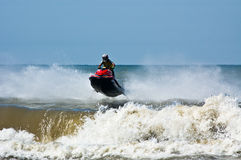 Extreme  jet-ski watersports Stock Photo