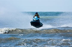 Extreme Jet-ski Watersports Stock Photos
