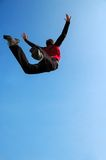 Extreme Jump Royalty Free Stock Photos