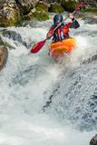 Extreme kayaking Royalty Free Stock Images