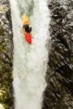 Extreme Kayaking In Ecuador Stock Photography