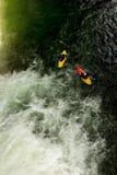 Extreme Kayaking In Ecuador Stock Image