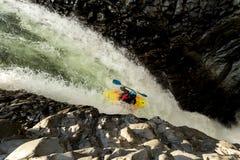 Extreme Kayaking In Ecuador Stock Photo