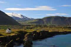 Extreme landschapsvormen in IJsland Royalty-vrije Stock Afbeelding
