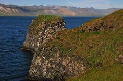 Extreme landschapsvormen in IJsland Stock Afbeeldingen