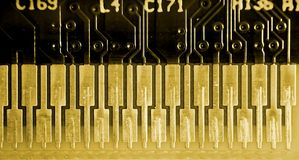 Extreme Macro of Electronics Stock Photography