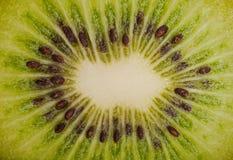 Extreme macro shot of a kiwi Stock Photography