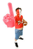 Extreme Middle Aged Football Fan Stock Photos