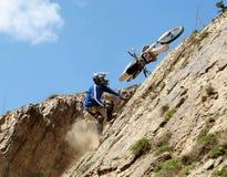 Extreme motorbike Stock Photography