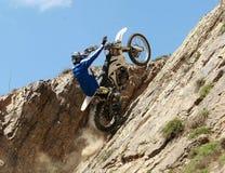 Extreme motorbike Stock Images
