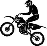 Extreme Motorcross Exhibition Royalty Free Stock Images