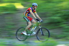Extreme mountain bike race in Jihlava Royalty Free Stock Image