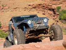 An extreme off-road sporting event in the desert Stock Photo