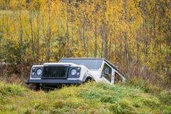 Extreme offroad auto, 4x4 Royalty-vrije Stock Afbeelding