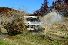 Extreme offroad car Royalty Free Stock Images