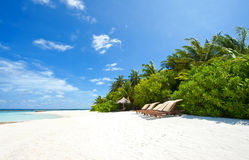 Extreme paradise royalty free stock image