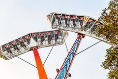 Extreme park attraction Stock Photos