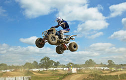 Extreme Quad jump Royalty Free Stock Images