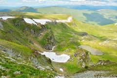 Extreme Road - Transalpina Romania. One of the most beautiful roads in the world royalty free stock photography