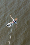 Extreme ropejumping Royalty Free Stock Photos
