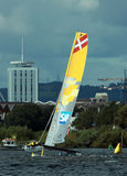Extreme Sailing in Cardiff 2014 Stock Photography