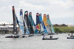 Extreme Sailing Royalty Free Stock Photography