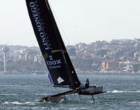 Extreme Sailing 2015 Istanbul Royalty Free Stock Photography