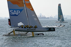 Extreme Sailing 2015 Istanbul Stock Photos