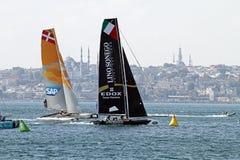 Extreme Sailing 2015 Istanbul Royalty Free Stock Image