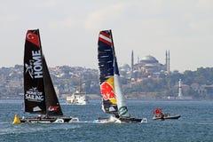 Extreme Sailing 2015 Istanbul Stock Photo