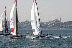 Extreme Sailing 2015 Istanbul Stock Photography