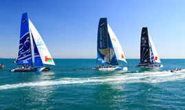 Extreme Sailing Series Royalty Free Stock Photography