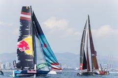 Extreme Sailing Series, Barcelona stock photos