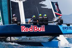 Extreme Sailing Series, Barcelona Royalty Free Stock Photo