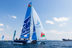Extreme Sailing Series Stock Images