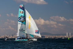 Extreme Sailing Series Royalty Free Stock Photo