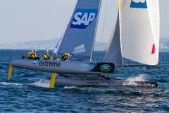 Extreme Sailing Series Royalty Free Stock Image