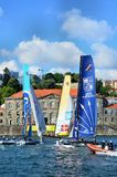 Extreme Sailing Series Porto July 2012 Royalty Free Stock Image