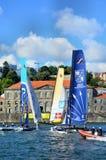 Extreme Sailing Series Porto July 2012 Royalty Free Stock Image
