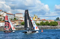 Extreme Sailing Series Porto July 2012 Royalty Free Stock Images