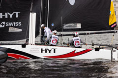 Extreme sailing series in Saint-Petersburg Royalty Free Stock Photo