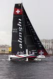 Extreme sailing series in Saint-Petersburg Stock Photography