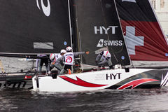 Extreme sailing series in Saint-Petersburg Royalty Free Stock Image