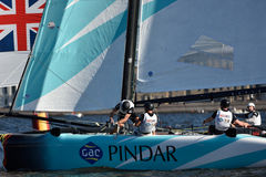 Extreme Sailing Series in St. Petersburg, Russia Royalty Free Stock Image