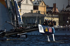 Extreme Sailing Series in St. Petersburg, Russia Royalty Free Stock Images