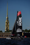 Extreme Sailing Series in St. Petersburg, Russia Stock Photos